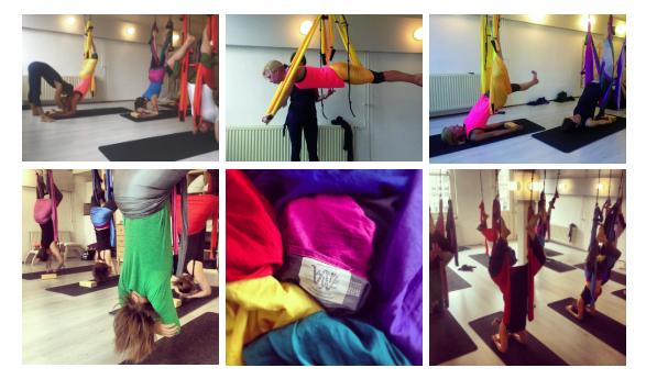Yoga je mee Rotterdam – Yogaswing lesschema 2014 / 2015